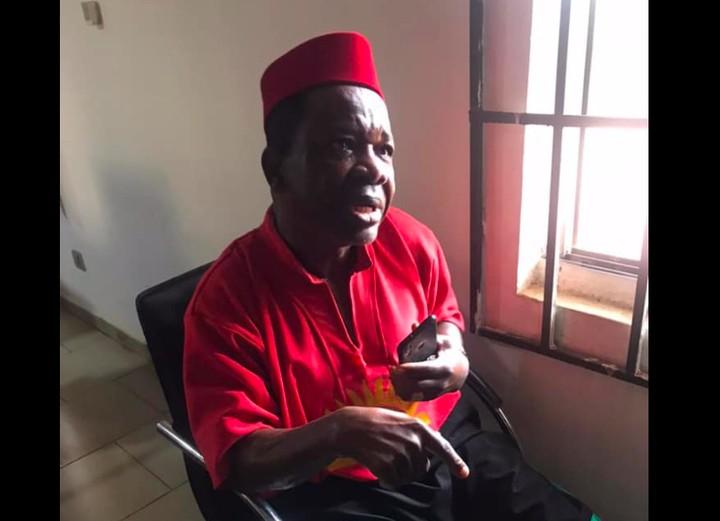 The Nigerian Army Explains Why It Arrested Popular Nigerian Actor Chinwetalu Agu.